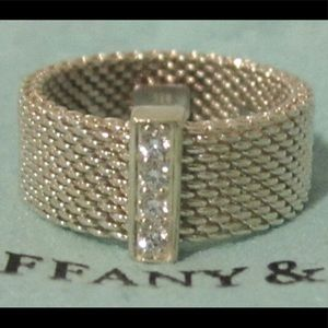 Tiffany mesh Somerset ring